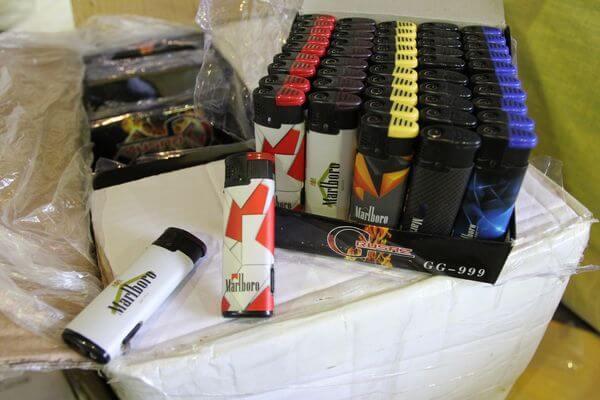 Таможенники Самары задержали зажигалки известных брендов, которые те даже не производят | CityTraffic