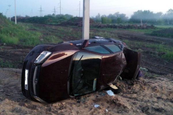 Пьяный водитель из Самары пытался скрыться от полиции | CityTraffic