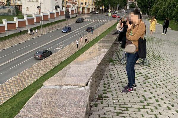 Ремонт подпорной стены в сквере Пушкина в Самаре завершат в конце июля | CityTraffic