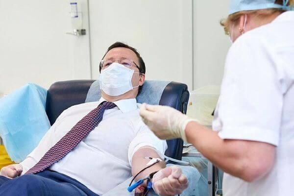 Ставший донором губернатор Самарской области призвал жителей региона сдавать кровь | CityTraffic