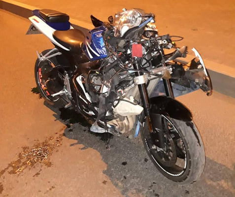 В Самаре мотоциклист сбил пешехода, и оба попали в больницу   CityTraffic