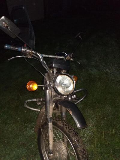Житель Самарской области в полночь попал под мотоцикл | CityTraffic