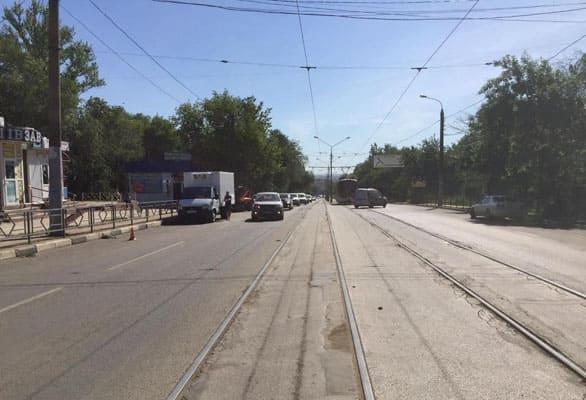 В Самаре грузовая ГАЗель сбила пенсионерку | CityTraffic