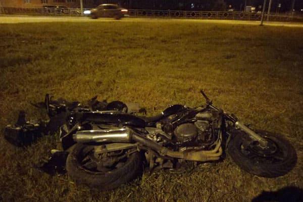 В Самарской области опрокинулся мотоцикл, пассажирка попала в больницу | CityTraffic