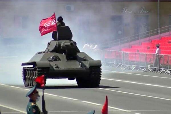 Генеральная репетиция Парада Победы состоялась в Самаре: видео | CityTraffic