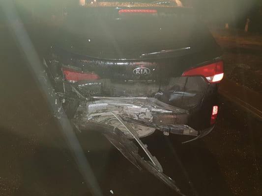 В Самаре ночью столкнулись 3 автомобиля   CityTraffic