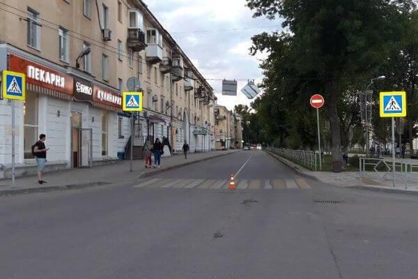 В Самаре мотоциклист сбил пенсионерку | CityTraffic