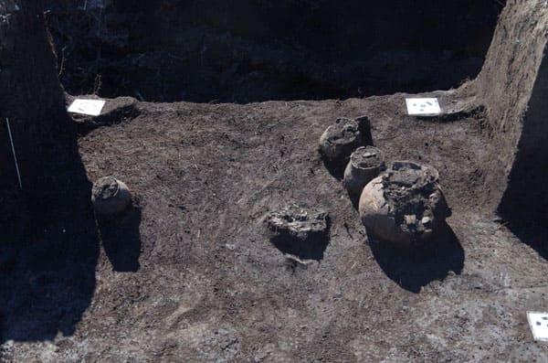 В Самарской области археологи обнаружили погребальный комплекс 4века