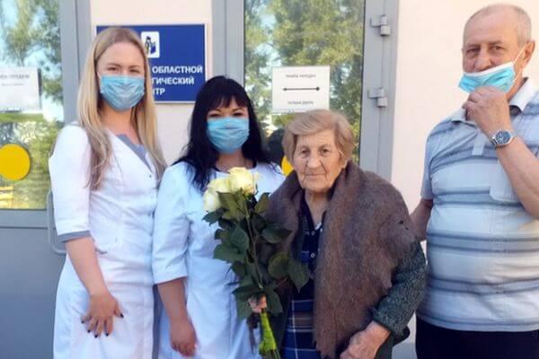 В Самаре 95-летняя ветеран ВОВ победила коронавирус   CityTraffic