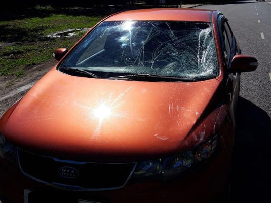 В Самаре под колеса автомобиля попала пенсионерка | CityTraffic