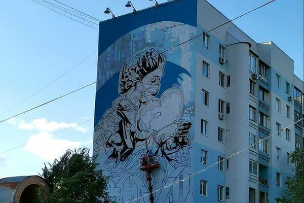 В Самаре появится граффити, посвященное врачам, борющимся с коронавирусом | CityTraffic