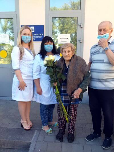 В Самаре 95-летняя ветеран ВОВ победила коронавирус | CityTraffic