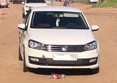 В Тольятти на Копылово водитель автомобиля Volkswagen Polo сбил 6-летнего ребенка | CityTraffic