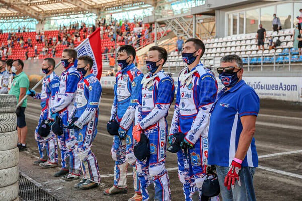 Тольяттинская «Мега-Лада» одержала победу в первой гонке КЧР-2020 по спидвею на гаревой дорожке | CityTraffic