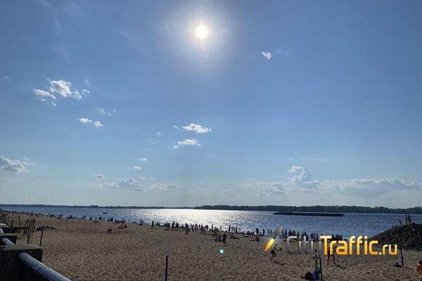 В Самаре работают 6 городских пляжей, в Тольятти - два | CityTraffic