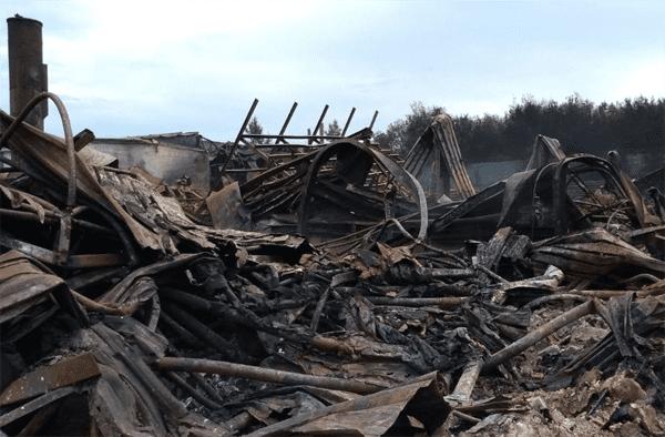 Пожар на складе изделий ПВХ в Самаре полностью ликвидирован | CityTraffic