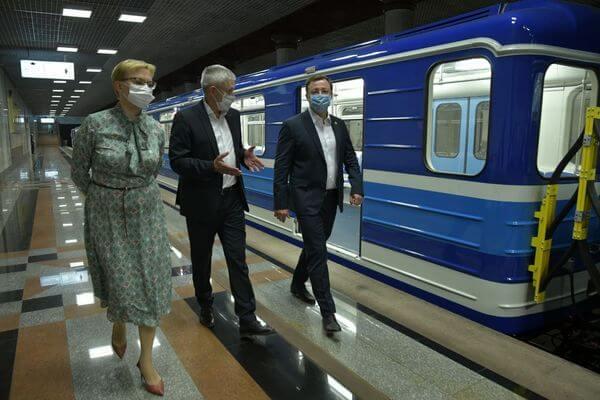 В метро Самары на линию вышел новый поезд | CityTraffic