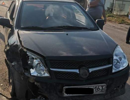 В Октябрьске подросток на мотоцикле врезался в китайский седан, выехав на встречную полосу | CityTraffic