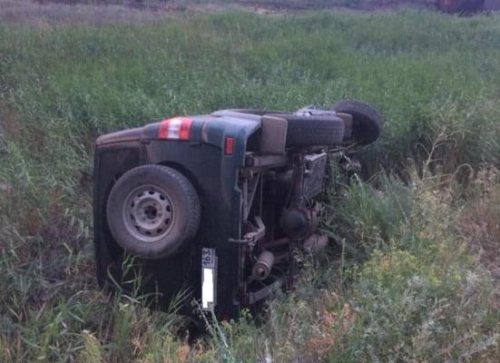 """Пьяный водитель УАЗа разбил """"семерку"""" всмятку на трассе в Самарской области   CityTraffic"""