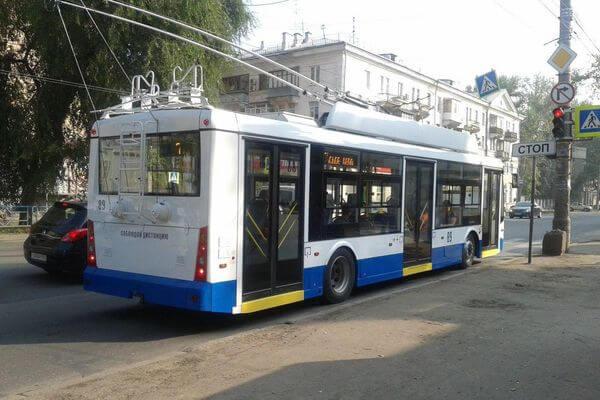 В Самаре на улице Мичурина отменили движение троллейбусов из-за работ по восстановлению дороги | CityTraffic