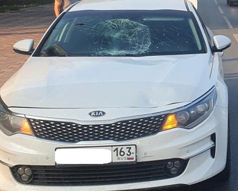 В Самаре иномарка сбила двух пешеходов | CityTraffic
