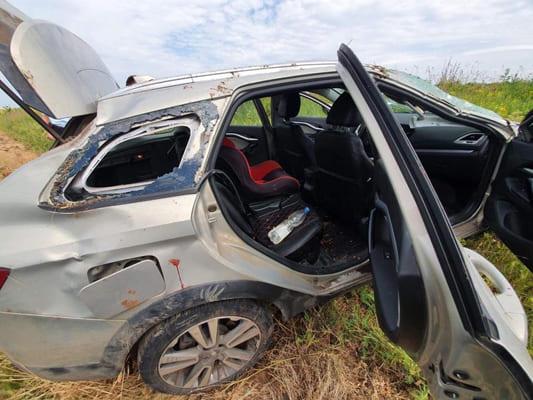 Девочка пострадала в результате опрокидывания автомобиля в Самарской области | CityTraffic