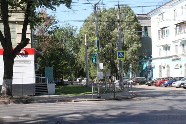 В Самаре на пересечении улицы Гая и  проспекта Масленникова установили светофор | CityTraffic