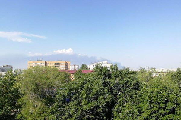 Запах от сгоревшего в  Самаре склада дошел до Новокуйбышевска | CityTraffic