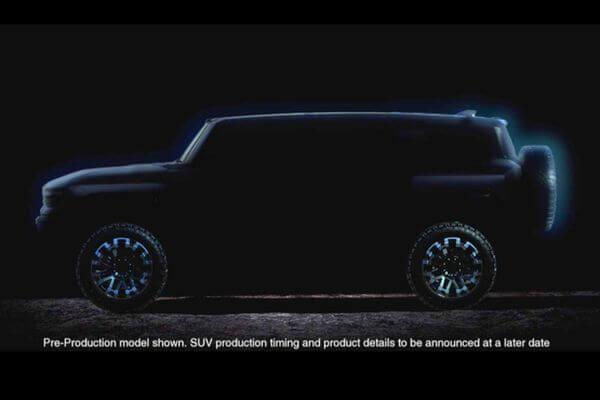 Электромобиль GMC Hummer EV можно будет заказать уже в2020 году:видео