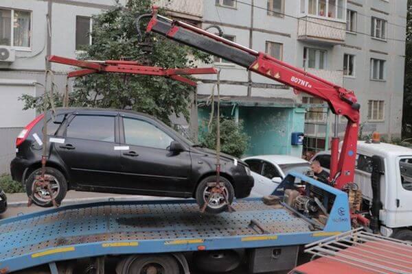 В Самаре у должницы за горячую воду приставы забрали автомобиль   CityTraffic