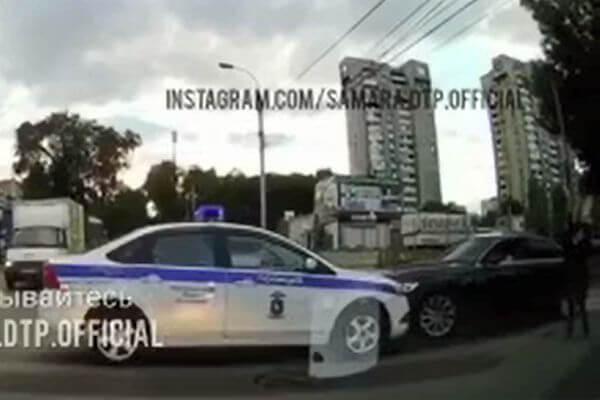"""В центре Самары произошла погоня со стрельбой за автомобилем """"Ауди""""   CityTraffic"""