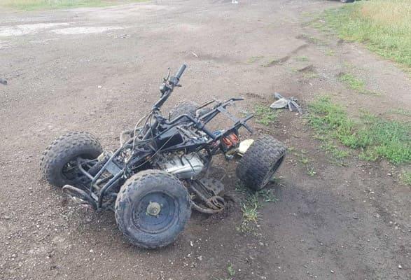 Двое детей на квадроцикле врезались в иномарку в Самарской области | CityTraffic