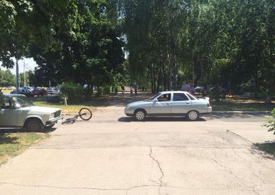 В жилой зоне Тольятти сбили подростка на велосипеде | CityTraffic