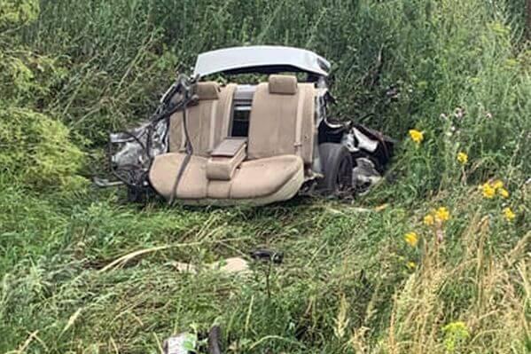 В Самарской области в кювете опрокинулся водитель, который сел за руль без прав | CityTraffic