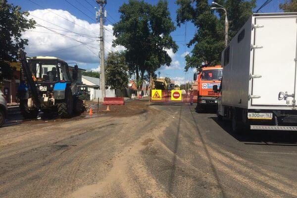 В Самаре из-за устранения коммунальной аварии на Мичурина образовалась пробка | CityTraffic