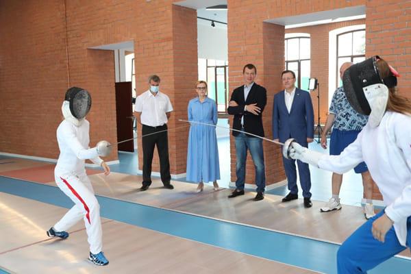 В Самаре откроется современный центр фехтования   CityTraffic