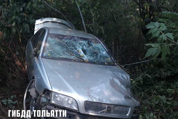 В Тольятти автомобиль Volvo съехал с дороги и врезался в дерево, водитель погиб | CityTraffic