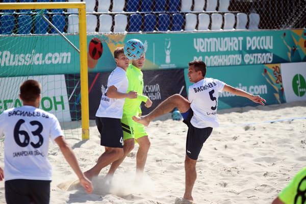 Пляжные «Крылья Советов» и «Динамо-Самара» проигрывают в 13-м туре | CityTraffic