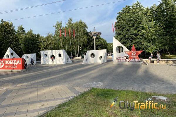 В парке Гагарина в Самаре  демонтируют старые аттракционы, на которых никто не катается | CityTraffic