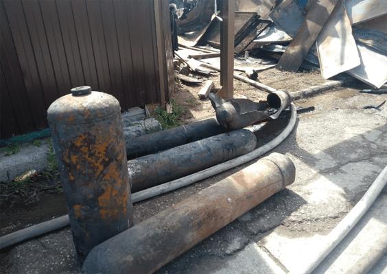 В частном секторе Самары, где пожарные тушили 10 горящих домов, взорвался газовый баллон | CityTraffic