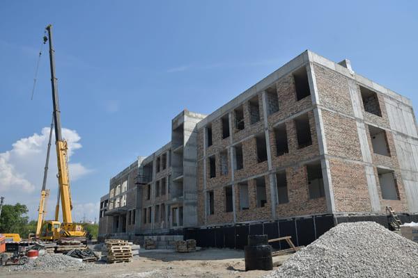 Школа на 5 просеке в Самаре возводится рекордными темпами | CityTraffic
