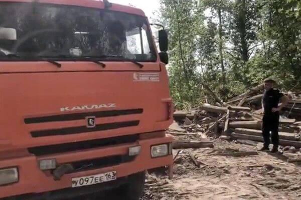 В Железнодорожном районе Самары обнаружили крупную свалку строительного мусора | CityTraffic