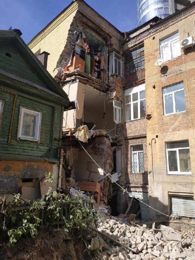 Прокуратура организовала проверку по факту обрушения стены жилого дома в Самаре | CityTraffic