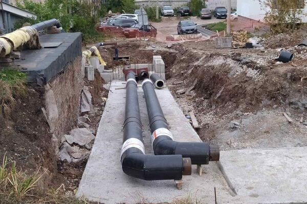 В Самаре продолжают менять трубы на 7 объектах жилфонда   CityTraffic