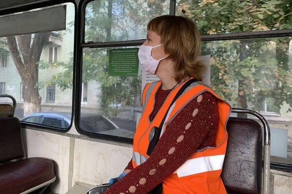 Глава Самары предложила водителям автобусов не трогаться с места, пока все пассажиры не наденут маски | CityTraffic