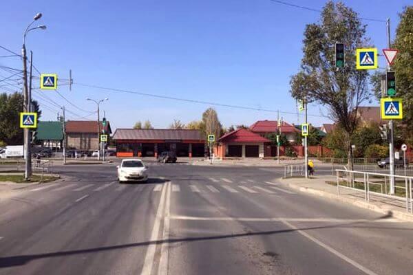 В Самаре на перекрестке сбили девушку-подростка | CityTraffic