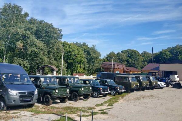 "Нацпарк ""Самарская Лука"" получил 10 автомобилей | CityTraffic"