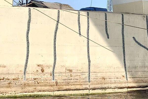Очевидцы обнаружили трещины на опорах Самарского моста | CityTraffic