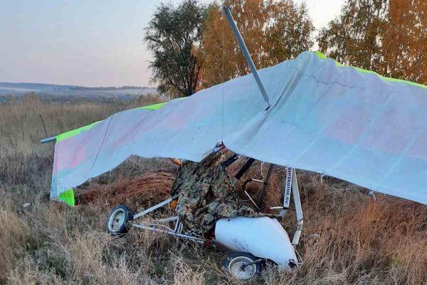 В Самарской области потерпел крушение мотодельтаплан | CityTraffic