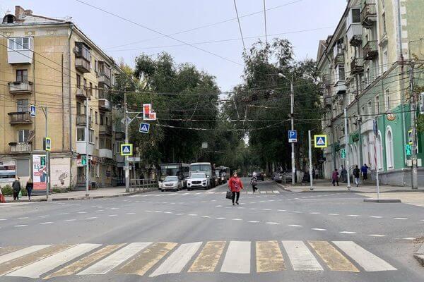В Самаре на перекрестке Мичурина и Масленникова появились диагональные переходы | CityTraffic